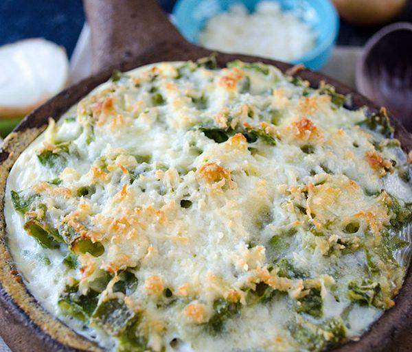 skinny vegetarian green bean casserole for Thanksgiving