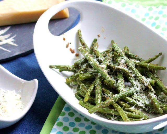 easy roasted fresh green beans