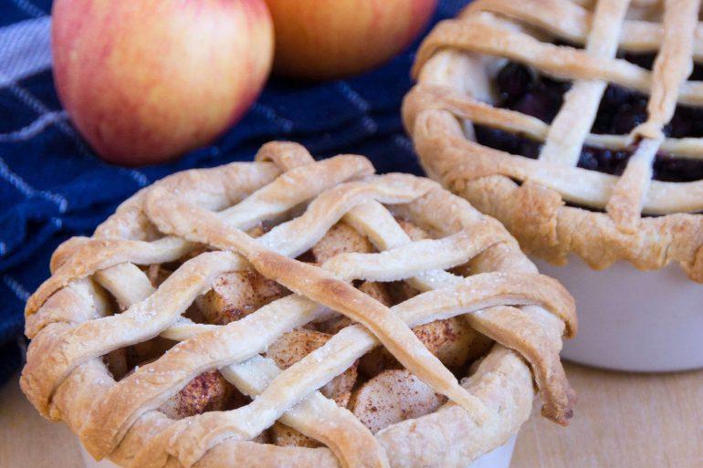 Individual Lattice Top Pies