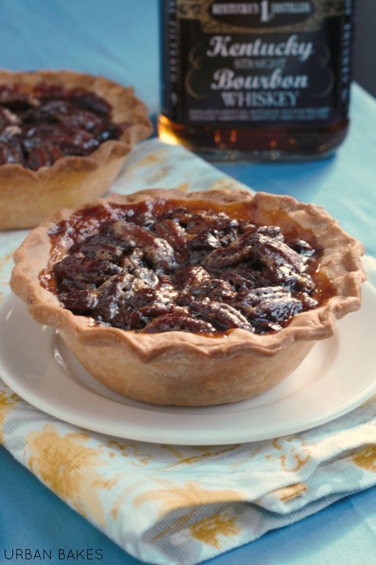 urban bakes boozy pecan pie