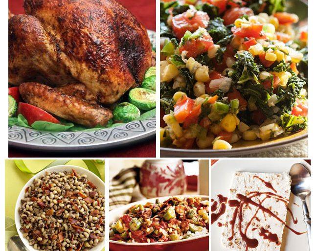 Thanksgiving Dinner Menu - Cajun Style
