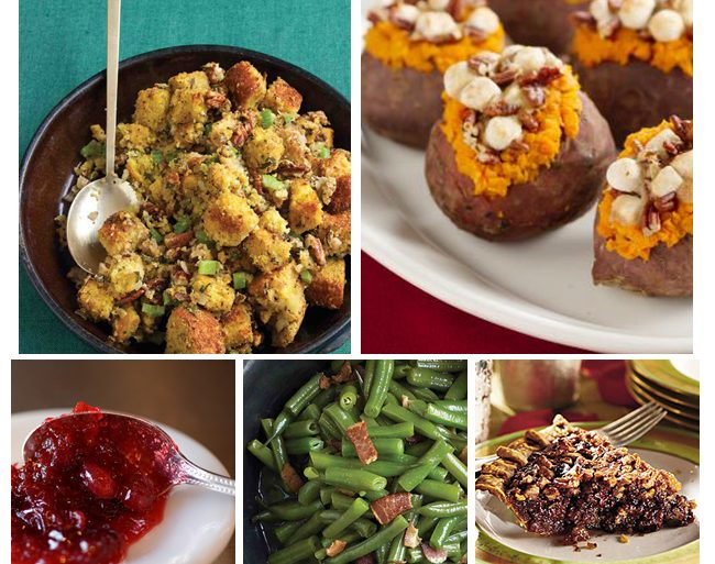 Thanksgiving Dinner Menu - Southern Style