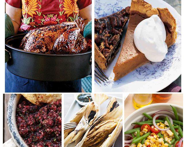 Thanksgiving Dinner Menu - Southwest Style