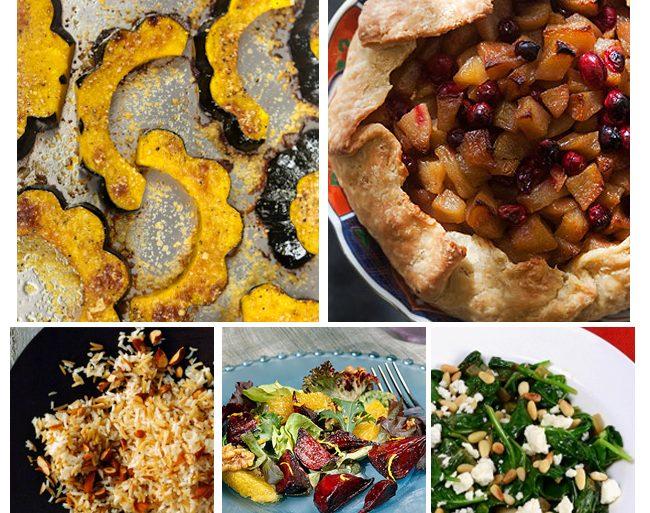 Thanksgiving Dinner Menu - Vegetarian Style