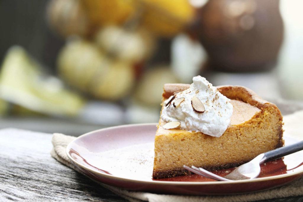 Biscoff pumpkin pie | Thanksgiving.com