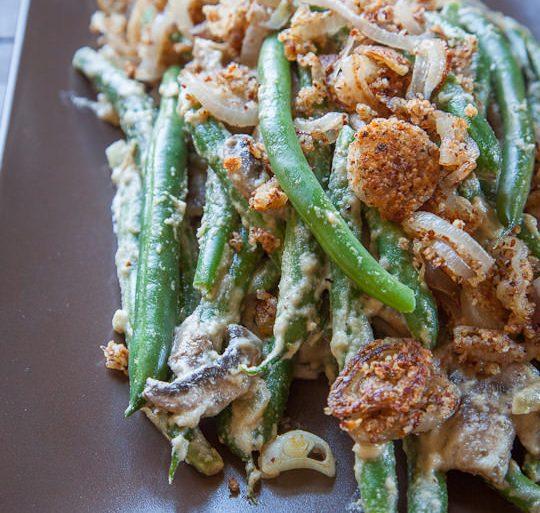 vegan, gluten free and paleo green beans