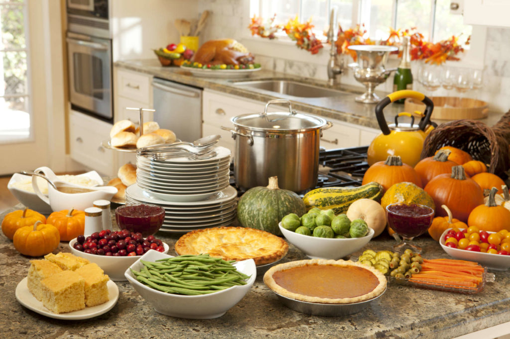 Make sure all of your thanksgiving dishes are done at the same time!
