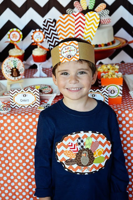thanksgiving wearable hat printables