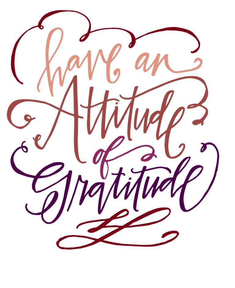 Grateful Thanksgiving Dinner Print - Thanksgiving.com