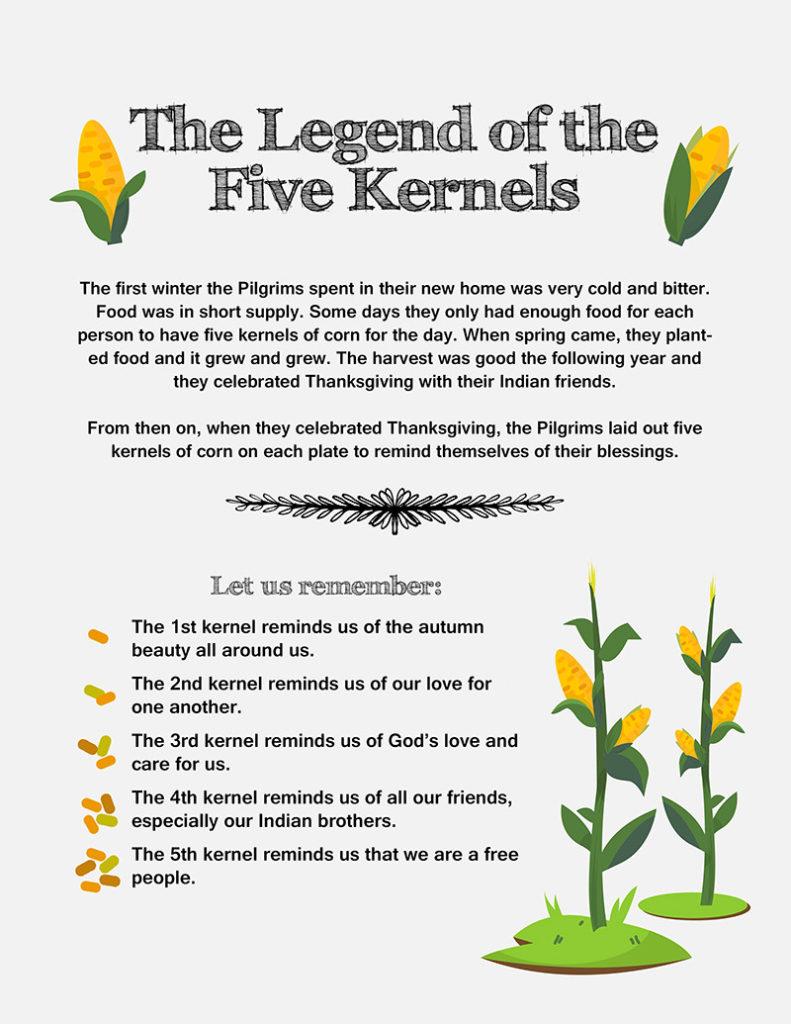 Legend of the Five Kernels