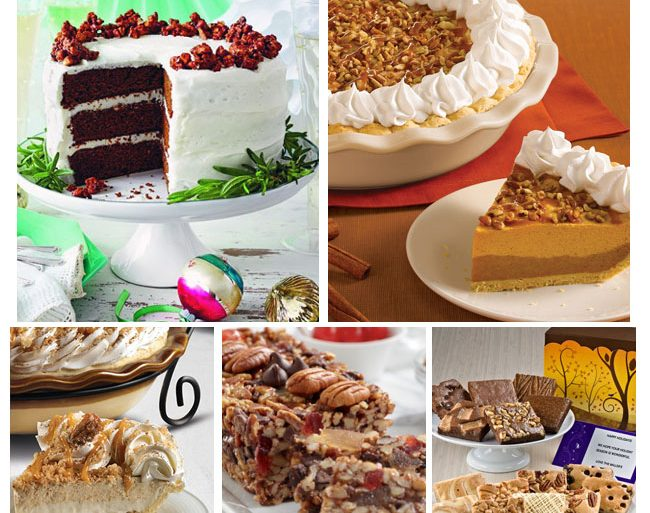 where to order thanksgiving desserts