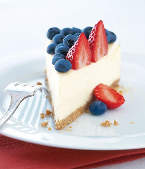 Berrry cheesecake