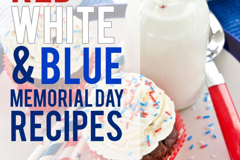 13 Patriotic Red, White, and Blue Memorial Day recipes