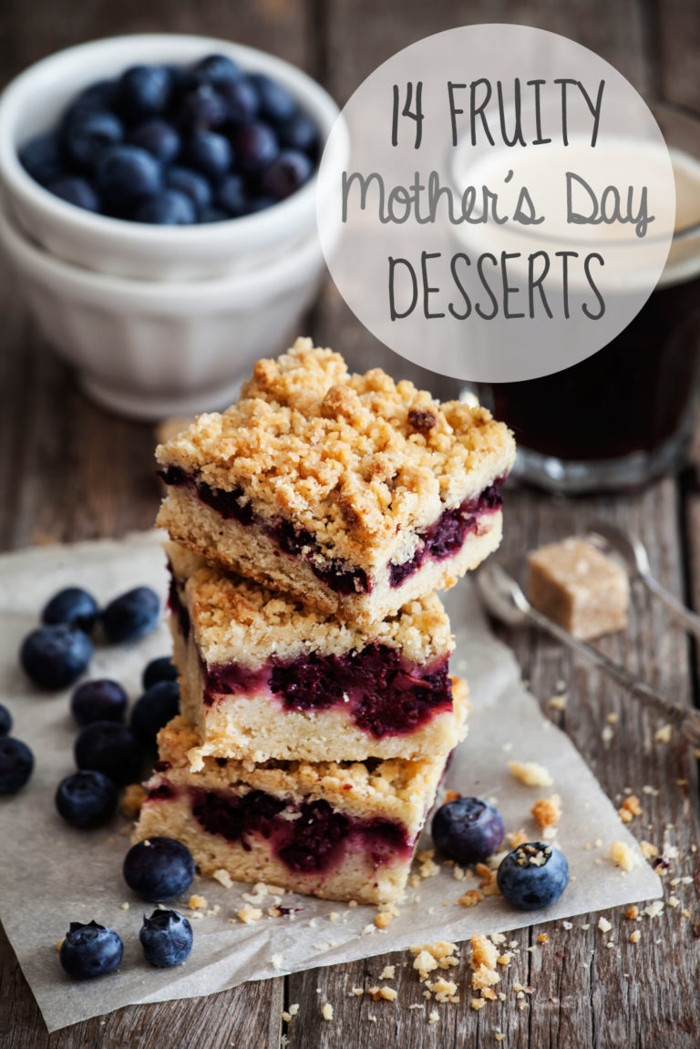 14 fruity mother's day desserts