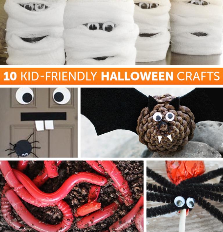 10 Kid-friendly Halloween crafts