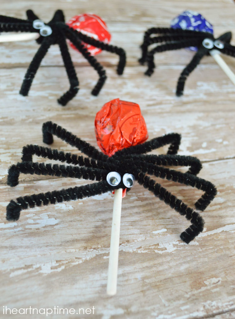 DIY spider suckers