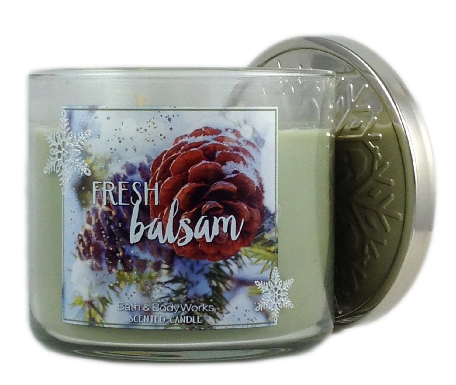 Bath and Body Works Fresh Balsam 3-wick candle