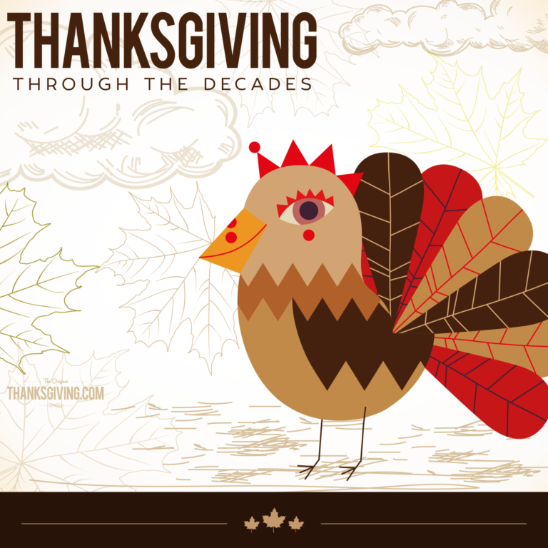 Things in history that has made Thanksgiving what it is today—Thanksgiving through the decades from Thanksgiving.com