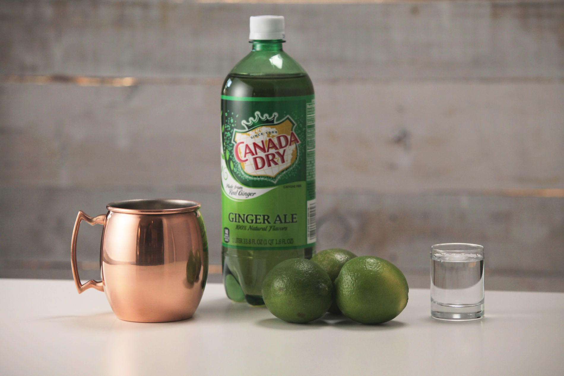 Moscow Mule Thanksgiving cocktail recipe