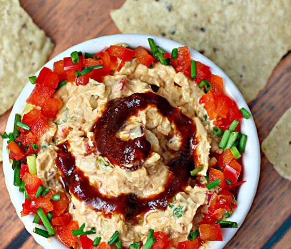 Spicy Game Day Cheese Dip