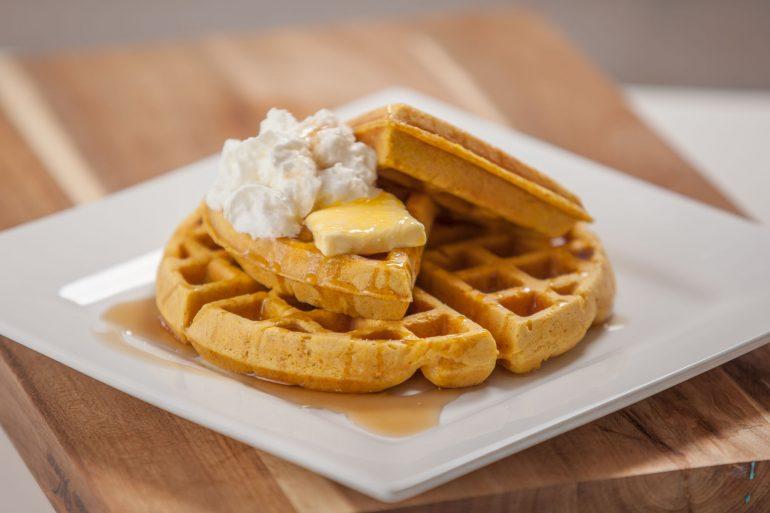 Pumpkin Waffles | Thanksgiving.com