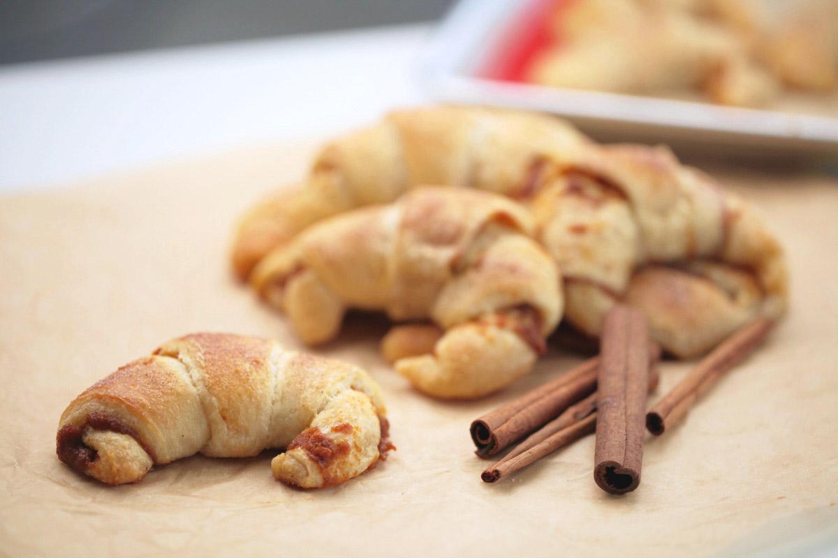 Pumpkin Pie Crescents | Thanksgiving.com