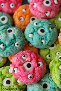 7 Gooey Monster Cookies for Halloween