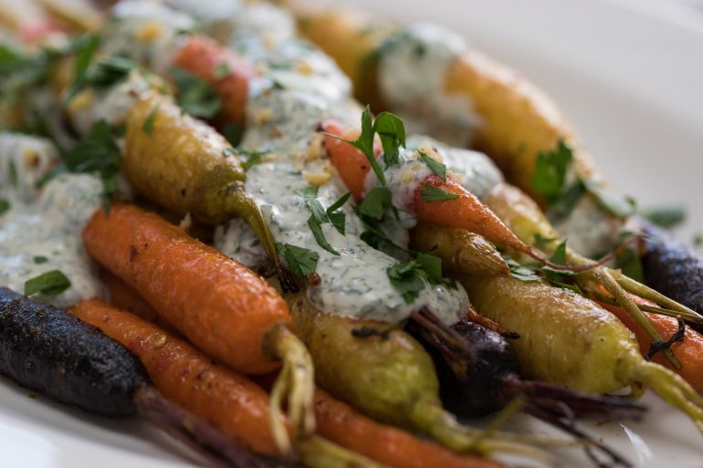Roasted carrots with Indian spices recipe