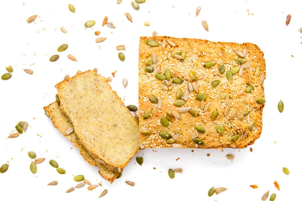 Keto bread made with cauliflower! Paleo, low-carb & no grain