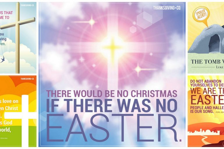 Hallelujah! 5 Christian Easter quotes to share & inspire