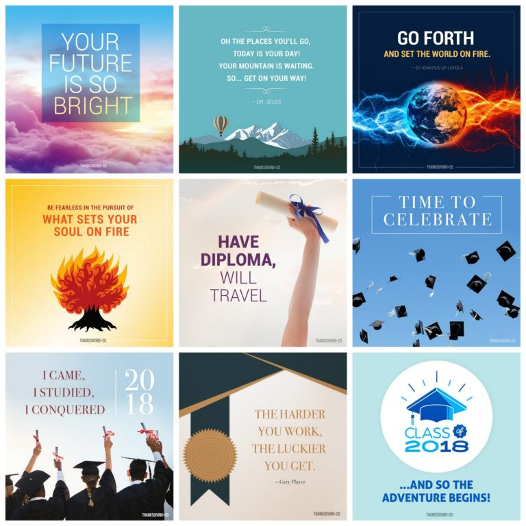 Graduation cards Greetings, blessings and thoughts to share