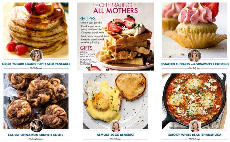 Mother's Day ecookbook 2018