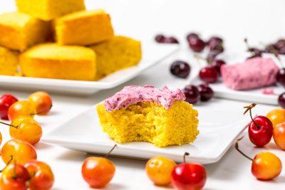 5D4B0283 - Gluten Free Cornbread with Cherry Butter