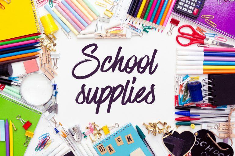 Back to school - Must-have school supplies