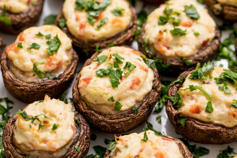 5D4B1194 - Crab Stuffed Mushrooms