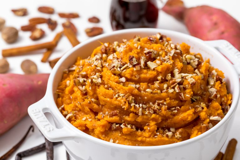 5D4B6310 - Maple Brown Butter Mashed Sweet Potatoes