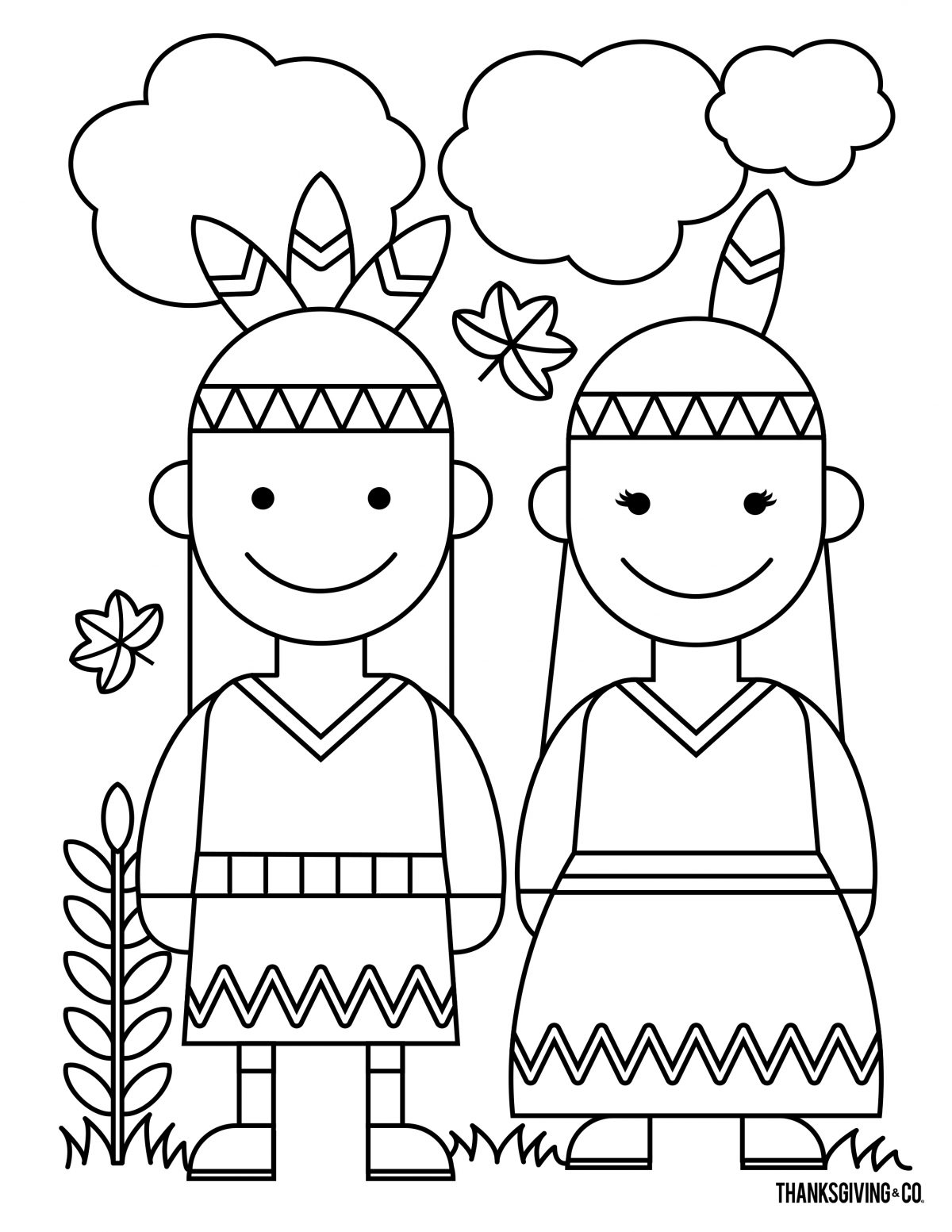 Thanksgiving Coloring 4