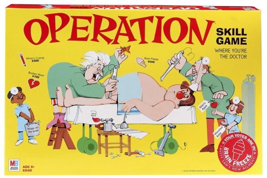 Friendsgiving drinking games Operation