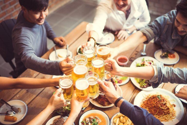 Friendsgiving drinking games cheers