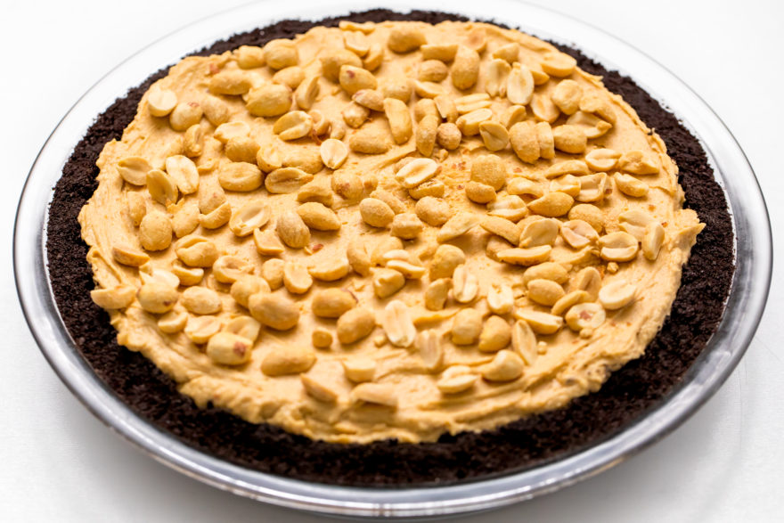 Dinner and a movie peanut butter pie