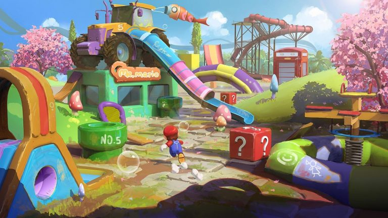 Video games for kids Super Mario Odyssey