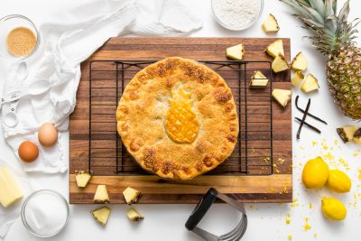 5D4B3447 - Vintage Double-Crusted Pineapple Pie
