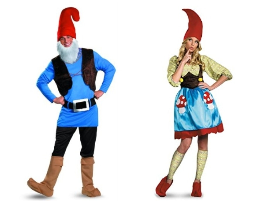 Couples costume ideas Gnomeo and Juliet