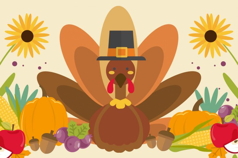 Thanksgiving turkey for word search