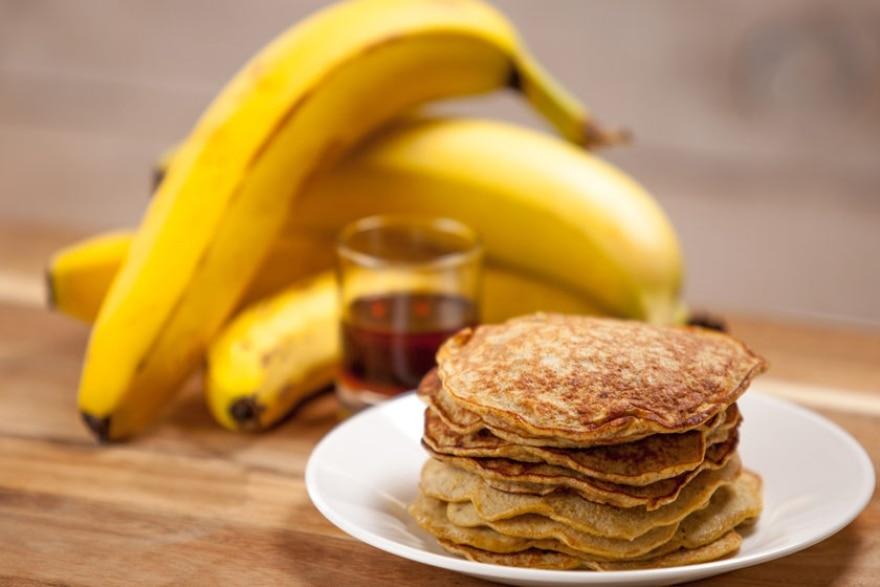 Dinner and a movie Beetlejuice banana pancakes
