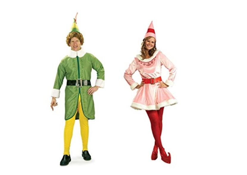 Couples costume ideas 2018 Buddy the Elf and Jovi