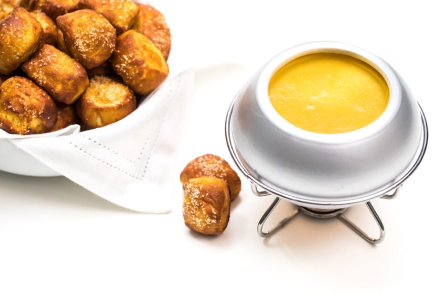 Alcohol-infused recipes cheesy beer fondue
