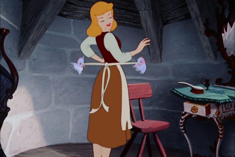 Dinner and a movie Cinderella