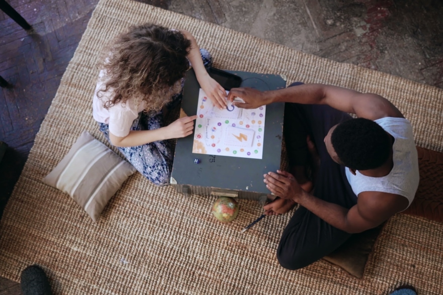 Holiday date night ideas board games