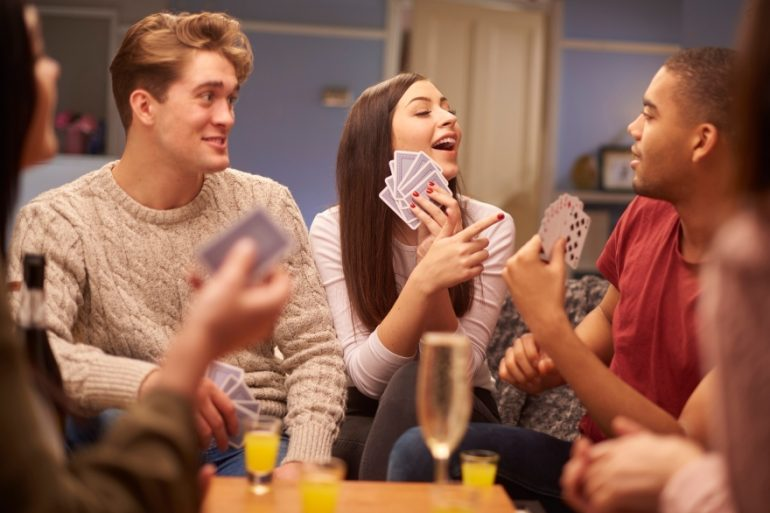 Friendsgiving games and activities